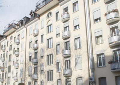 Balkongeländersanierung, Zürich