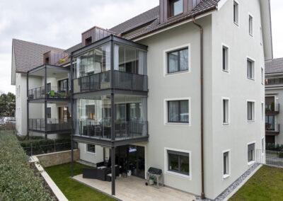 Balkone, Geländer Dorfstrasse Richterswil