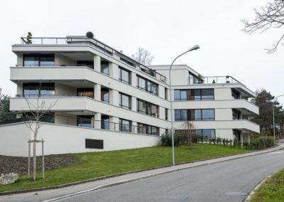 Terrassengeländer, Kilchberg